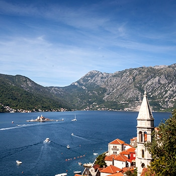 Taking in the stunning scenes of Montenegro. The perfect place to host our One Charge Challenge.