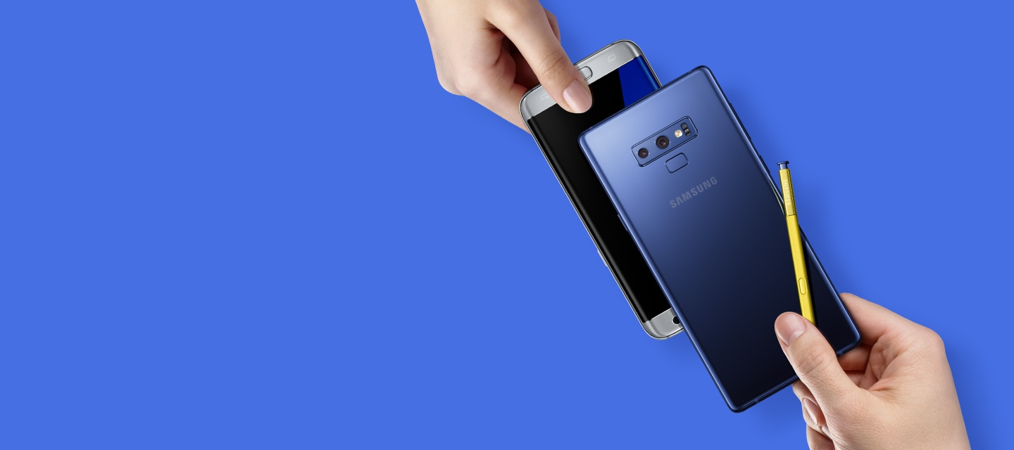Trade in your old Galaxy Note9 for the newly released Galaxy Note9