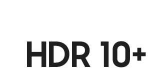 Logo for HDR 10+