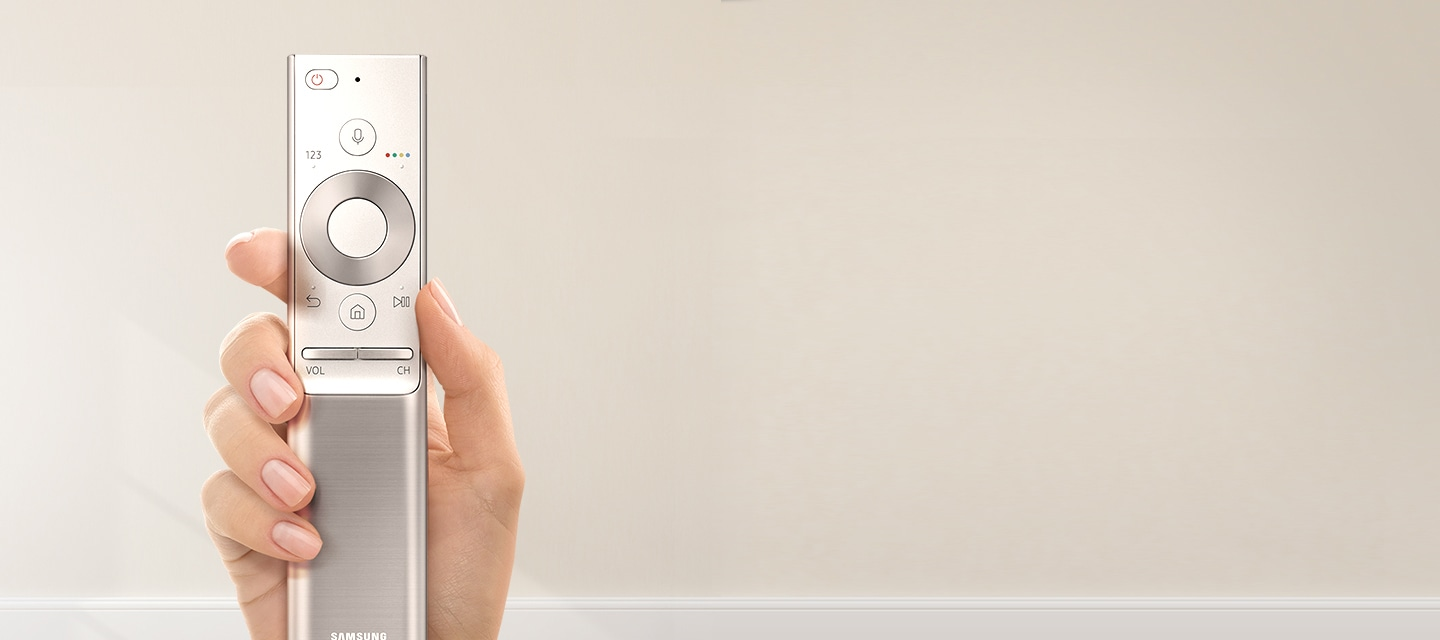 The one remote control of QLED TV