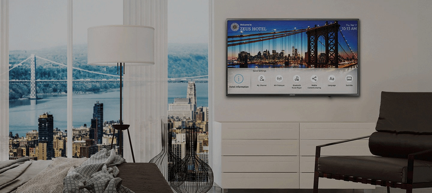 Samsung Smart Hospitality Display HF690 Series