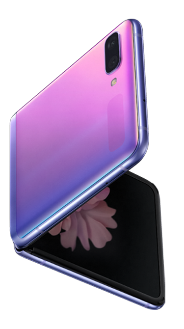 Galaxy Z Flip Mirror Purple