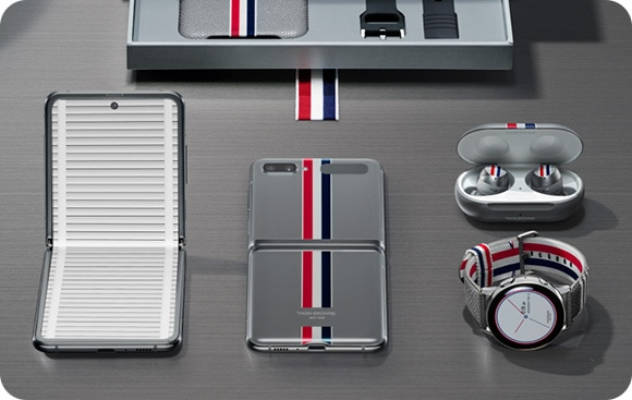 Galaxy Z Flip Thom Browne Edition product detail page