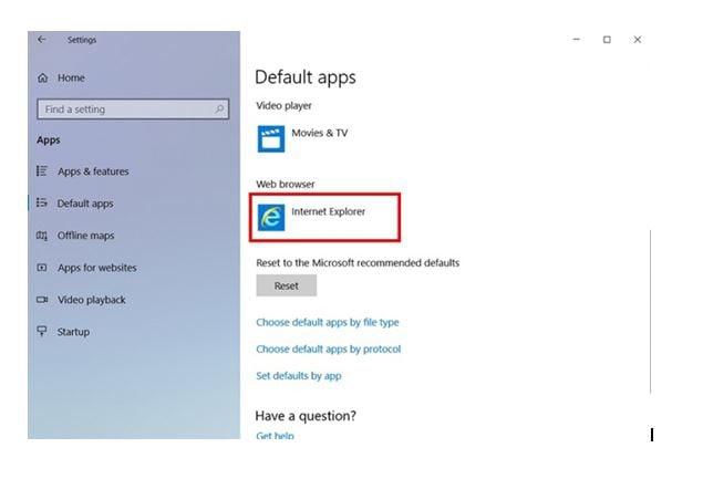 Windows 10: Microsoft Edge/Internet Explorer | Samsung Support HK_EN