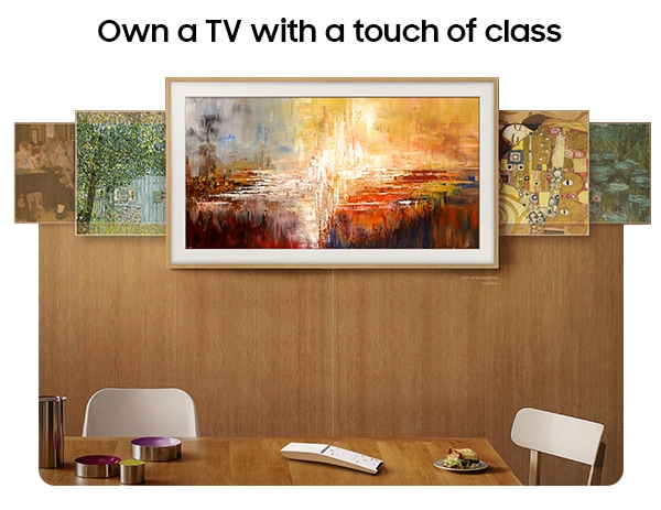 Own a TV with a touch of class