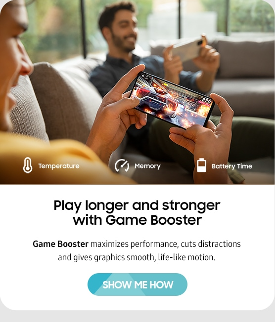 Play longer and stronger with Game Booster