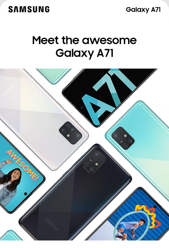 Meet the awesome Galaxy A71
