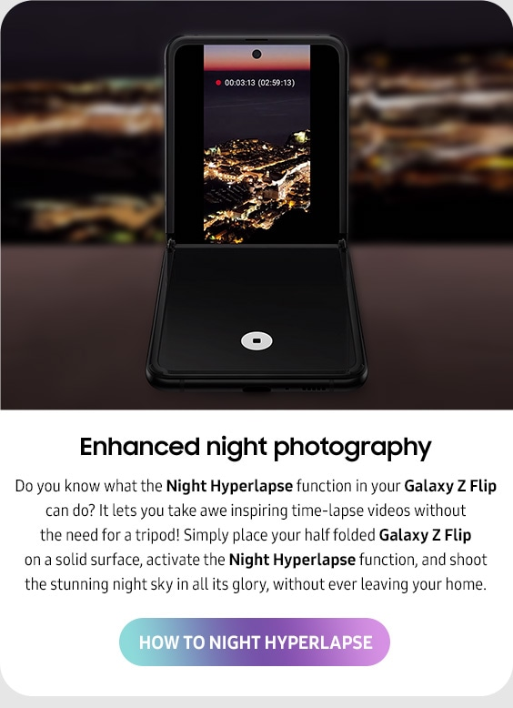 Enhanced night photography