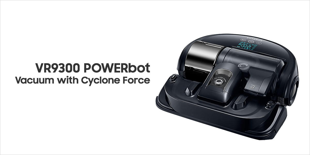 VR9300 POWERbot Vacuum with Cyclone Force, 40W
