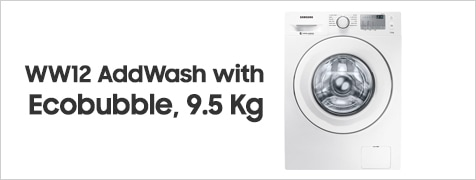 WW95 AddWash with Ecobubble, 9.5 Kg