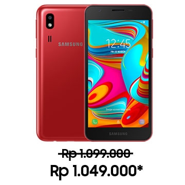 Galaxy A2 Core Red