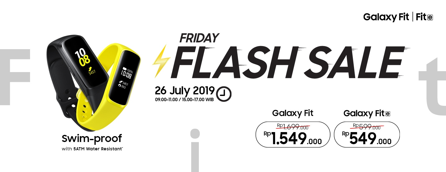 Galaxy Fit Friday Flash Sale - Get Cashback up to Rp 150.000