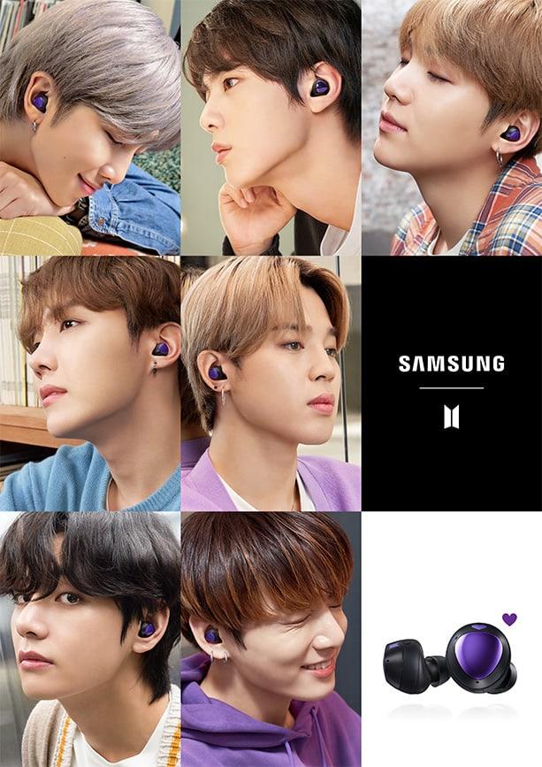 Samsung Galaxy Buds Bts Edition Specifikasi Fitur Samsung Indonesia