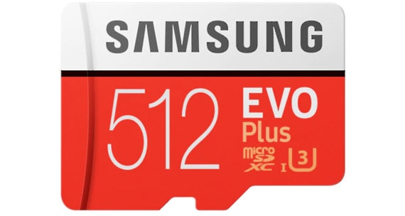Samsung Memory Card EVO Plus