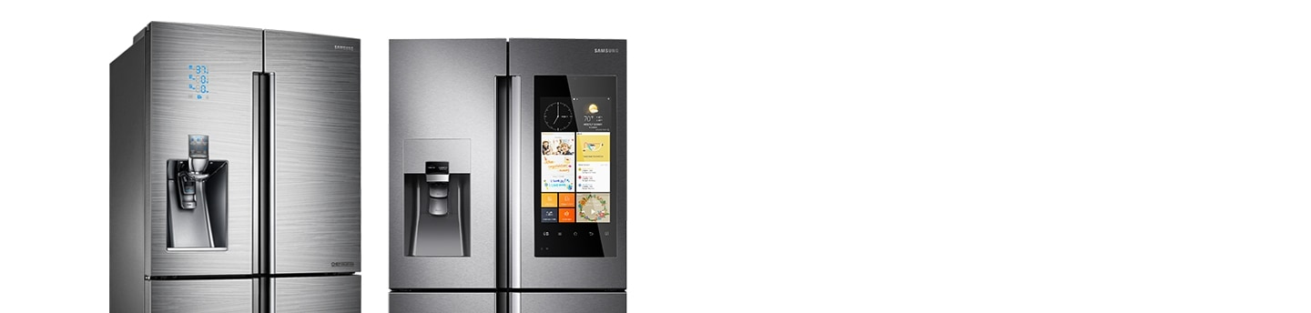 French Door Design - 751L Chef Collection French Door Fridge & Family Hub 550L American-Style Smart Fridge Freezer