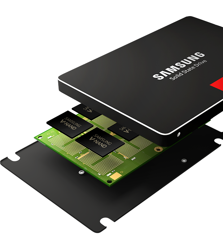 V-NAND - Think Vertically - Samsung Sold State Drive