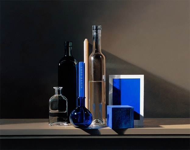 Guy Diehl Still Life with Yves Klein Blue (2007)