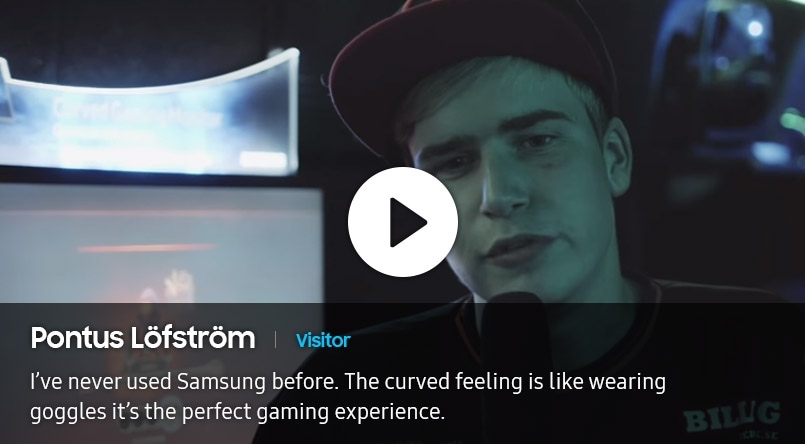 Image of interview by Pontus Lofstrom, visitor who participated in DreamHack Winter 2016