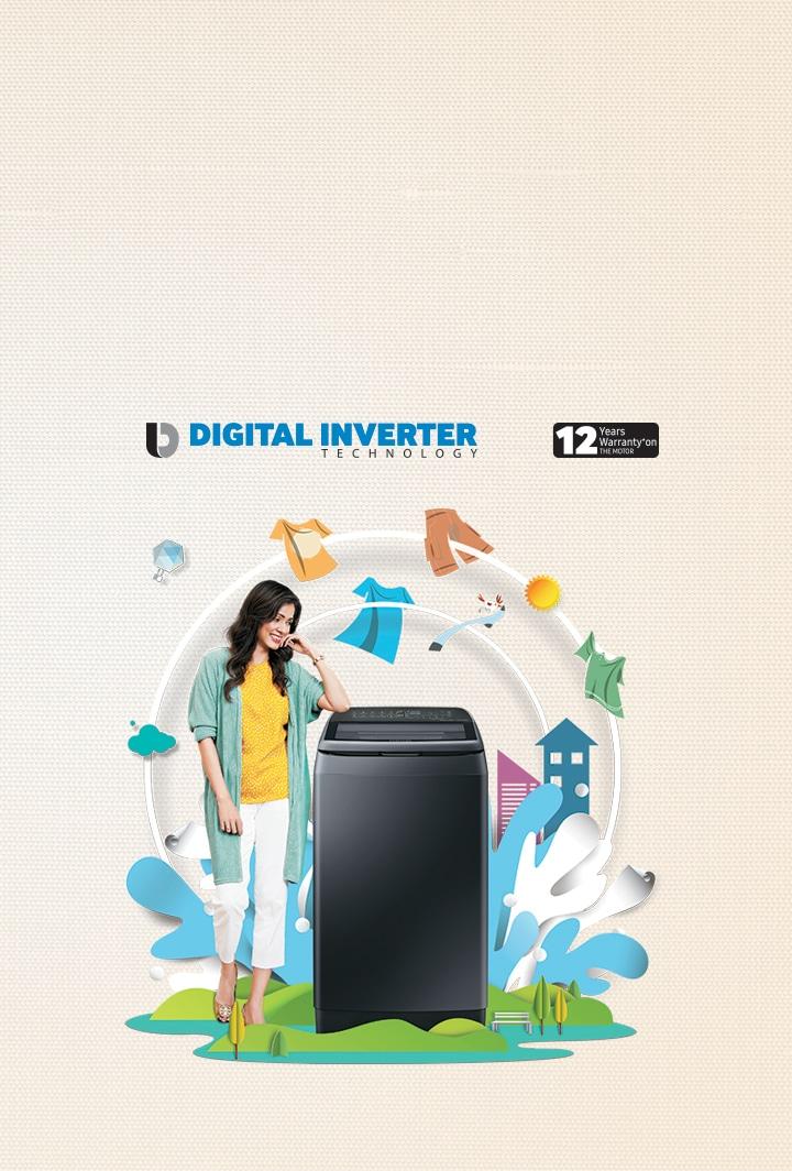 Best Washing Machine Features | Smart Washers | Samsung India