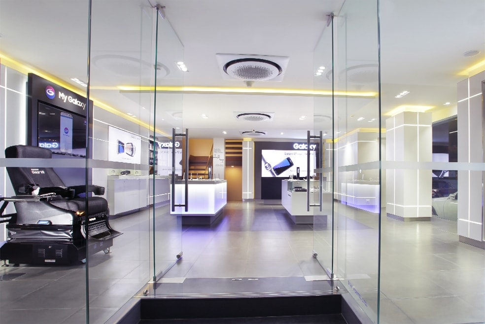 Samsung Experience Stores in India