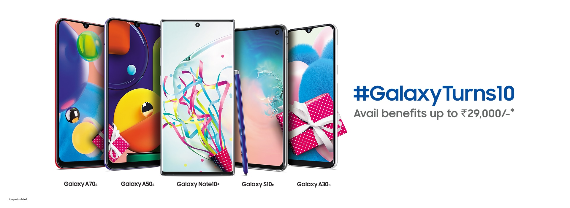 Galaxy Smartphone 10th Anniversary Offers