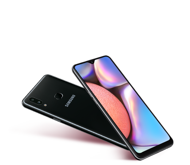 Samsung Galaxy A10s with Glossy Design