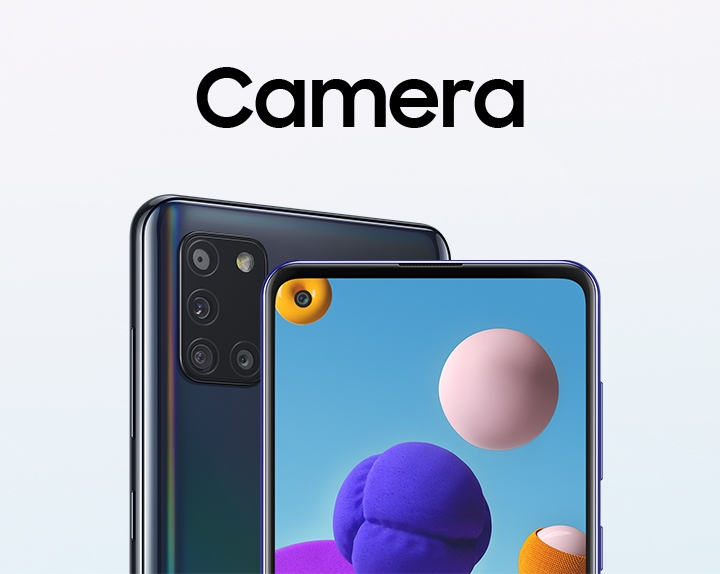 Camera Samsung Galaxy A21s Samsung India