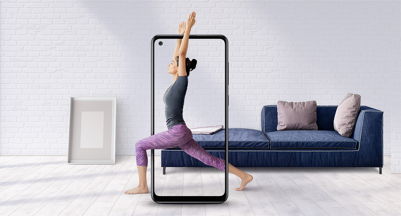 Galaxy A21s - 6.5 inch Infinity-O Display