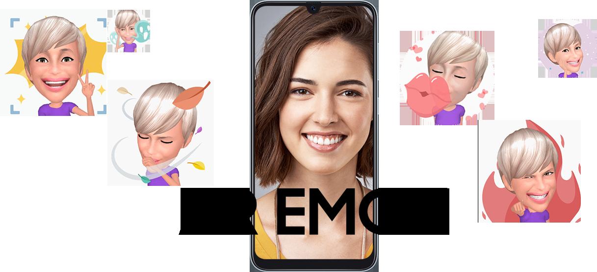 Samsung Galaxy A50 - AR Emoji