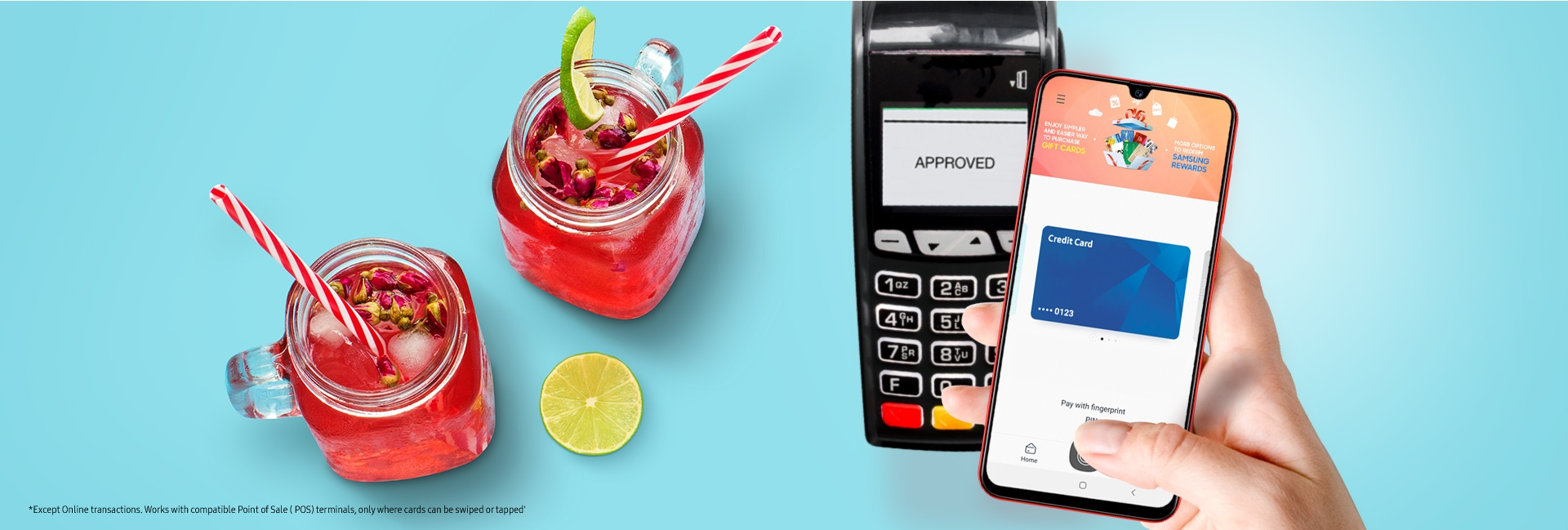 Samsung Galaxy A70s with Samsung Pay