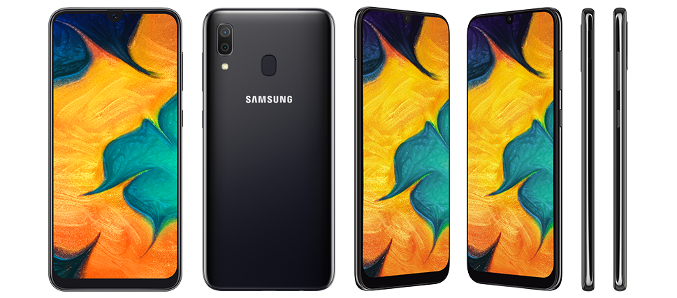 Black Colour - Samsung Galaxy A30