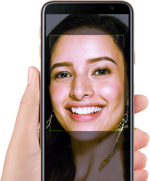 Facial Recognition - Samsung Galaxy J4+
