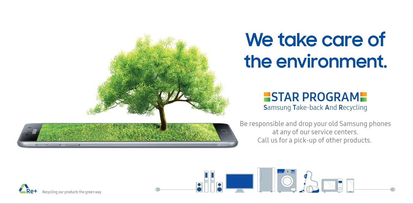 Samsung Recycling Program in India