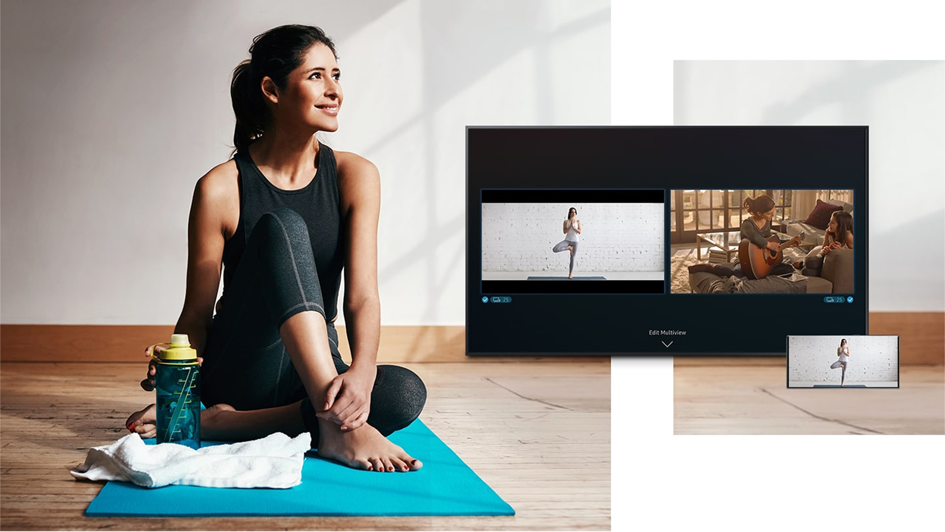 The Frame TV - Multi View Feature