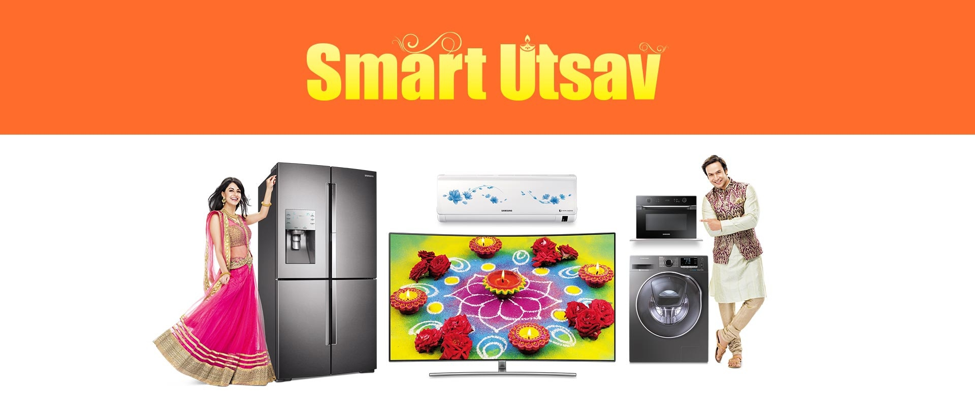 Samsung Smart Utsav Offer - Latest Diwali Offers