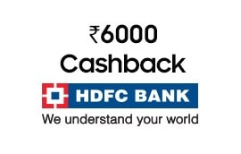 HDFC credit or debit cash back Offer on Samsung Galaxy S9 and S9 Plus