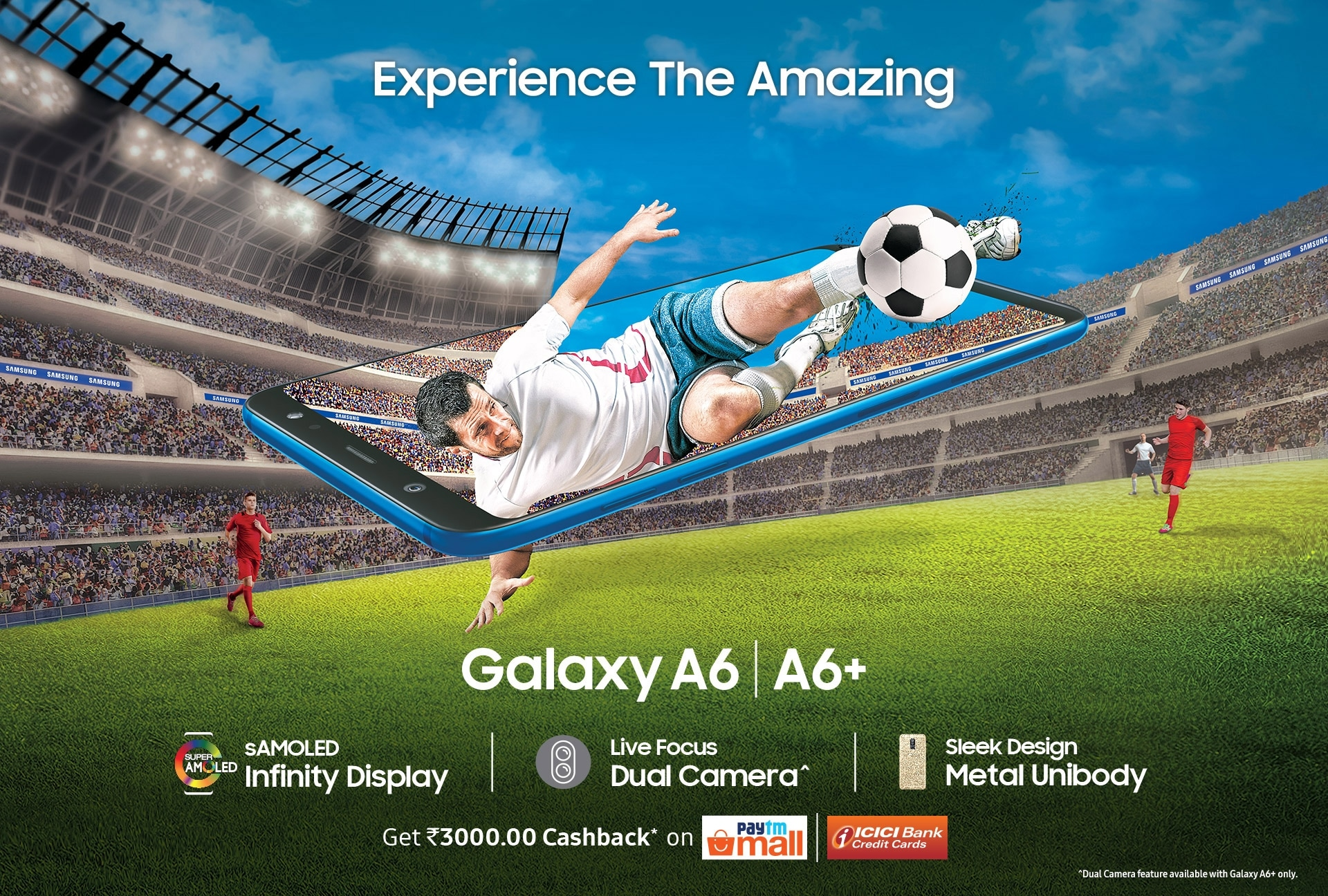 Try out Samsung Galaxy A6 and A6+ in Samsung Experience Stores