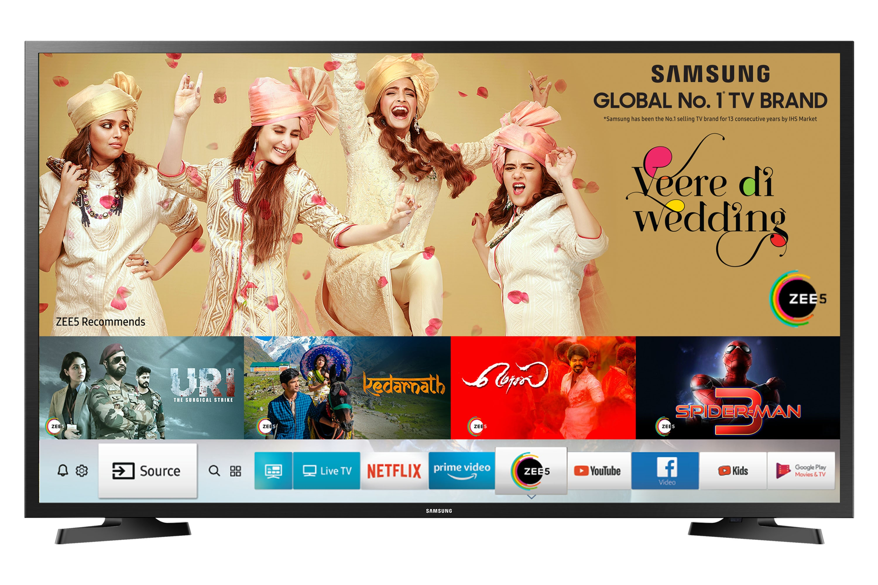 Samsung 32 Inch (80cm) N4305 Smart HD TV