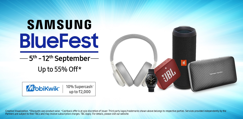 2019 Samsung Blue Fest (5th-12th Sep) - Up to 55% Off