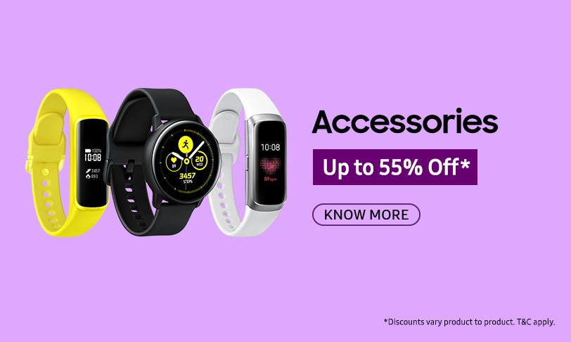 Up to 55% Off on Accessories