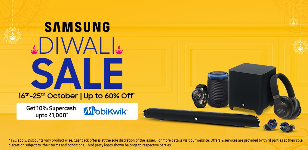 Samsung 2019 Diwali Sale on Accessories