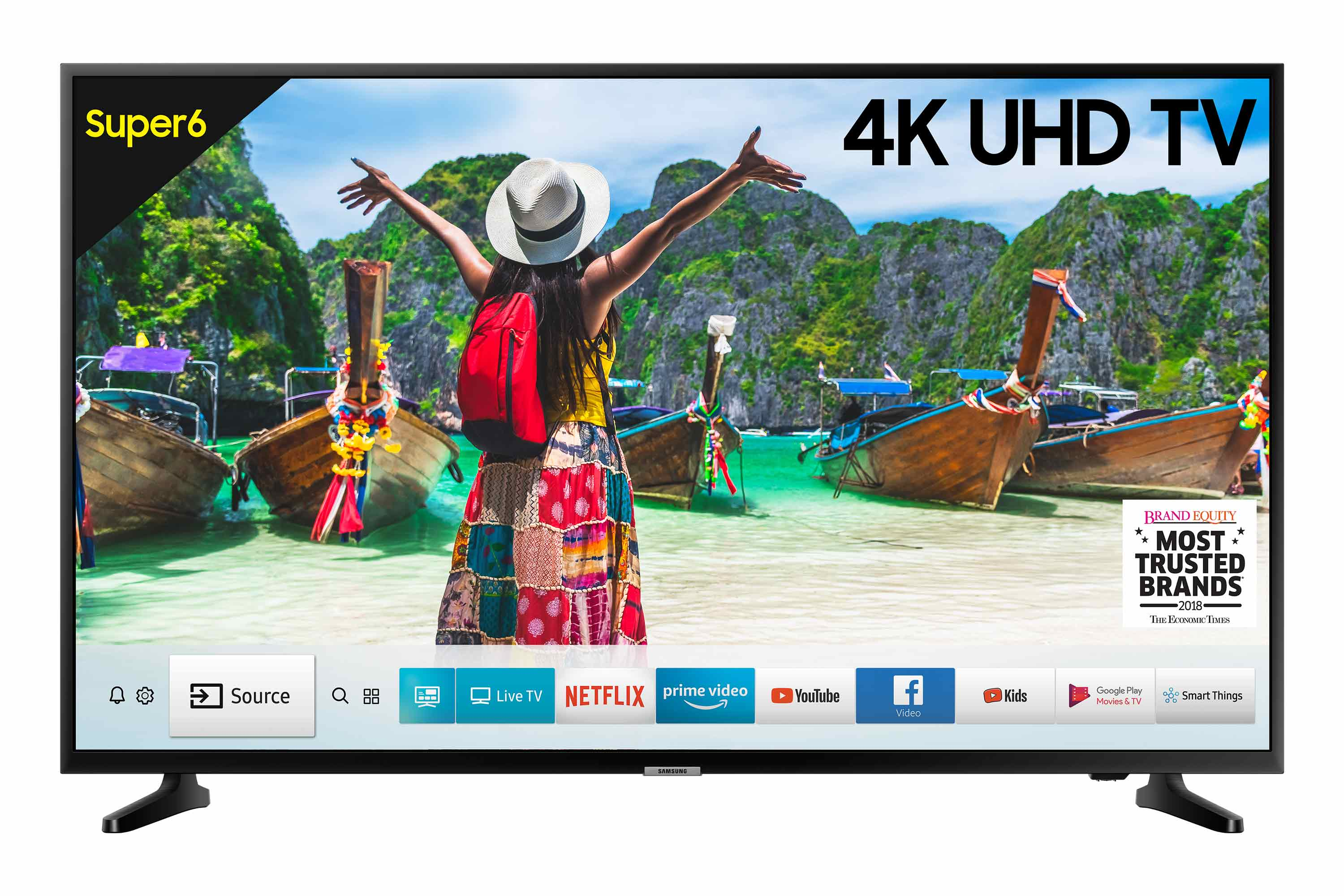 Samsung 43 Inch (108cm) NU6100 Ultra HD (4K) LED Smart TV