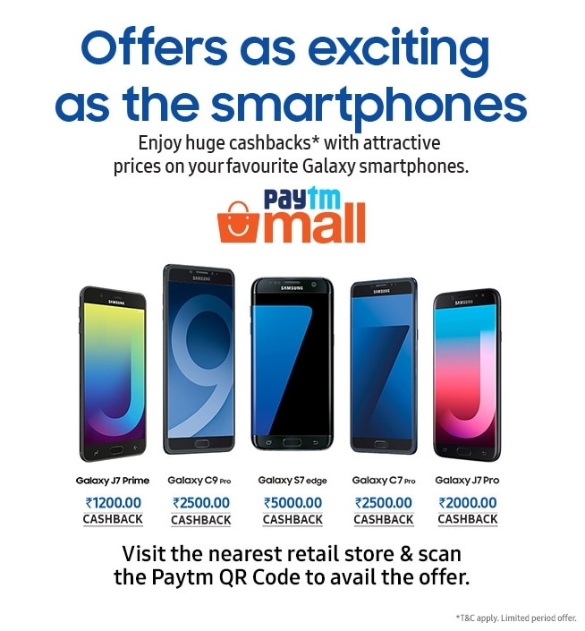Exciting Offers on Samsung Galaxy Smartphone