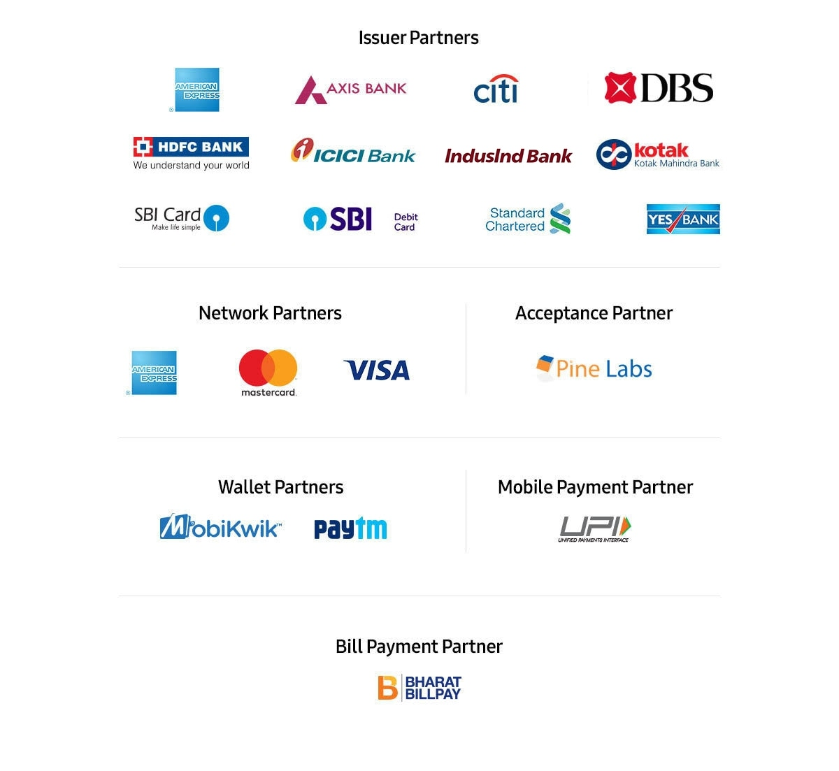 Strategic Partners with Samsung Pay