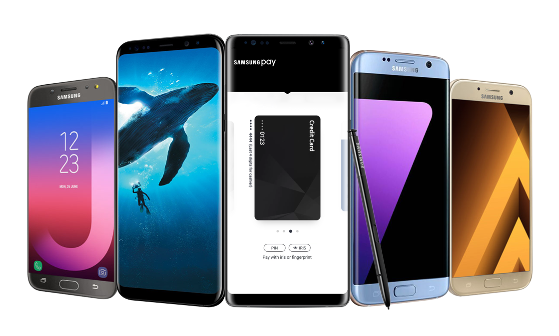 Samsung Pay Compatible mobiles