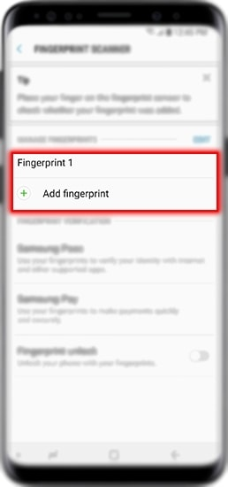 How to Set Up Fingerprint Security in Galaxy S9|S9+?