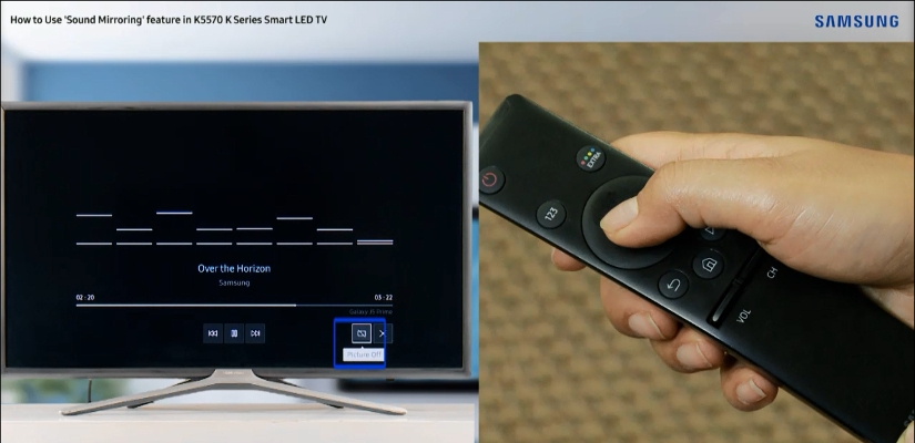 How to do Sound Mirroring in K series TV ? | Samsung Support India