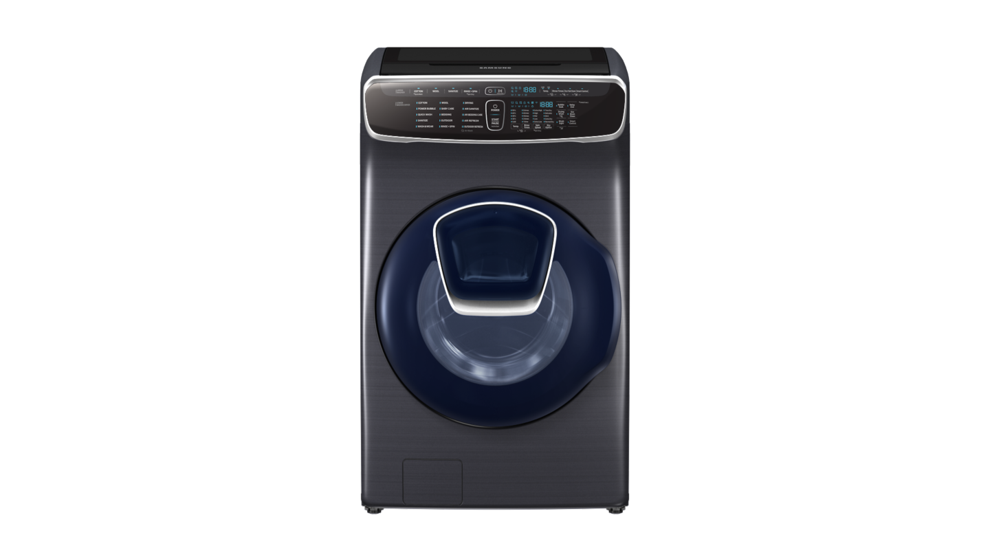 360° View of Front Loader Washing Machine
