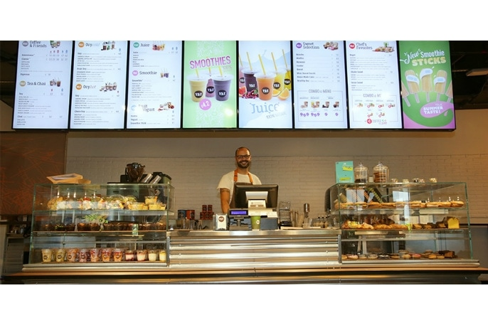 12oz Coffee Joint, il menu si fa digitale grazie al Digital Signage