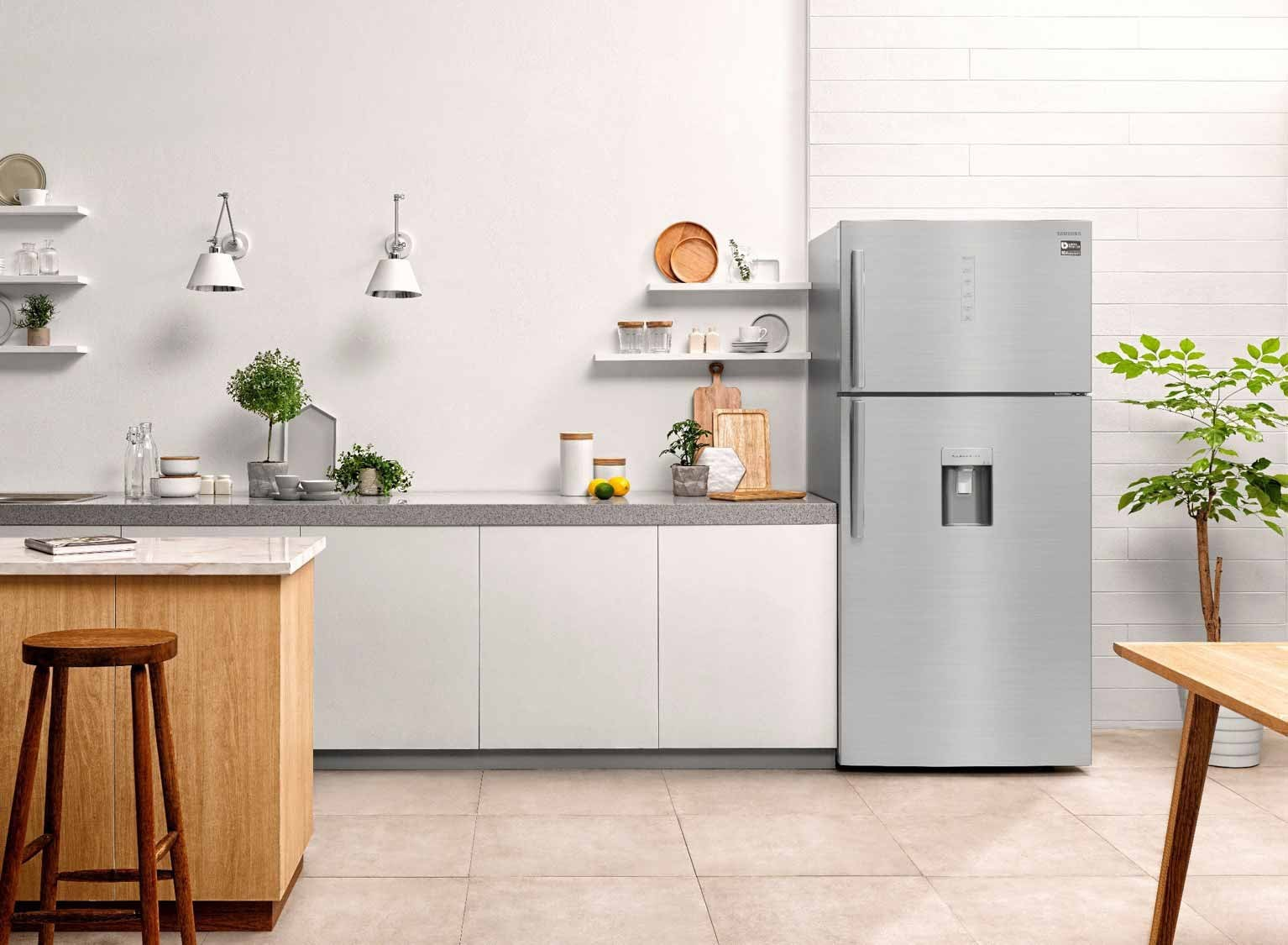 Samsung announces the new Twin cooling fridge that keeps food fresh for a much longer time than a regular fridge